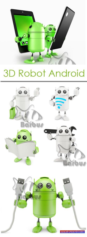 3D Robot Android / 3D Робот Андроид