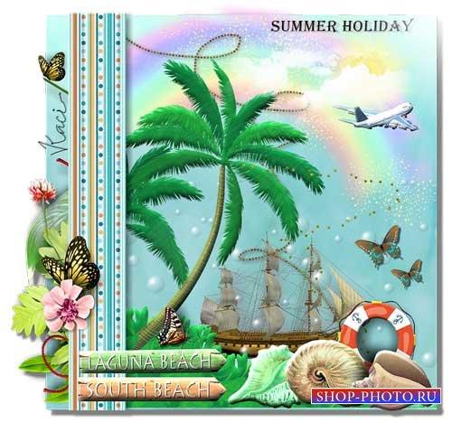 Морской скрап-набор - Летний отдых
