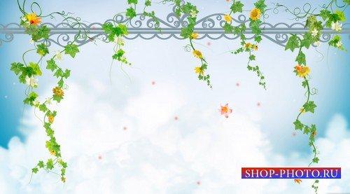 Футаж - альпинизм лианы