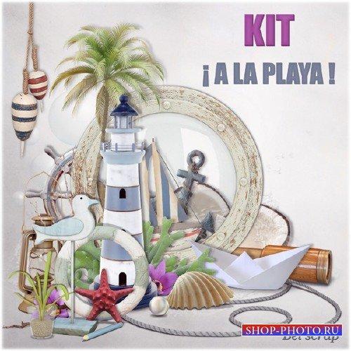 Морской скрап-набор - A la Playa
