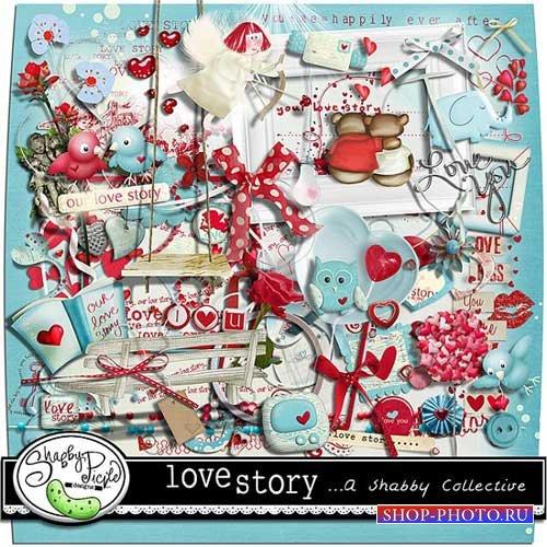 Романтический скрап-набор - История любви