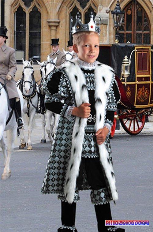 Шаблон  детский -  Карету наследнику престола