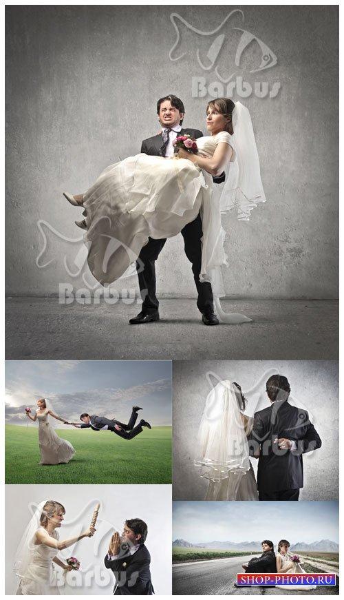 Creative newlyweds /  Креативные молодожены