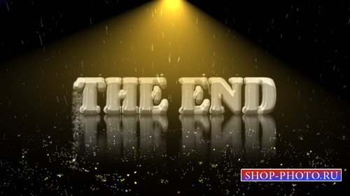 Футаж высокого качества - THE END