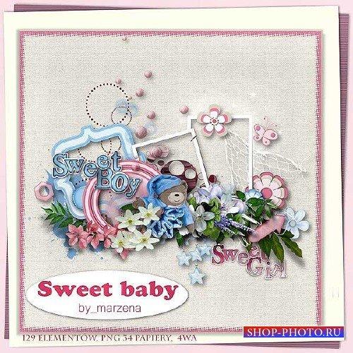 Детский скрап-набор - Милый малыш