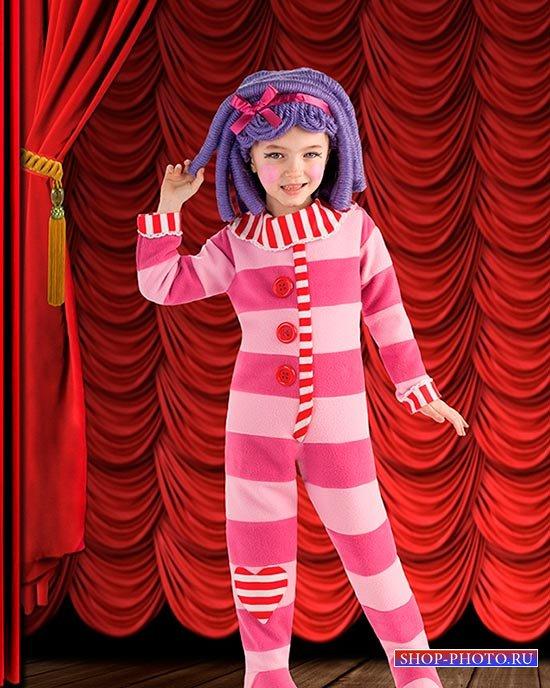Детский фотошаблон - Это мой сценический образ