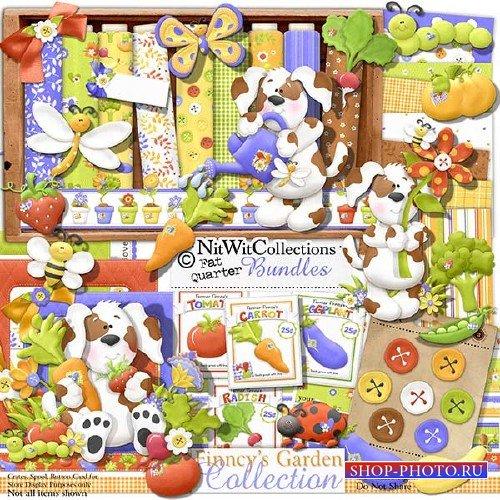 Детский скрап-набор - Очаровательный сад