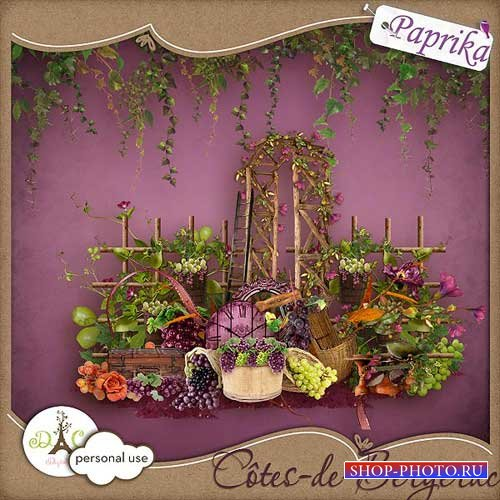 Цветочно-ягодный скрап-набор - Рейтинг Бержерак