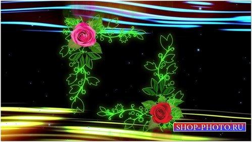 Футаж высокого качества с альфой - Романтика