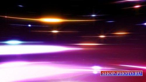 HD футаж Вращение света