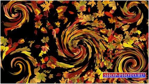Футаж с альфой - Осенние фантазии