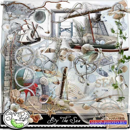 Морской набор для скрапбукинга - У моря