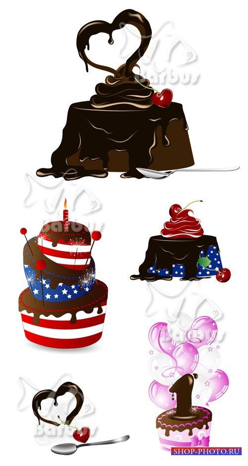 Chocolate dessert / Шоколадный десерт