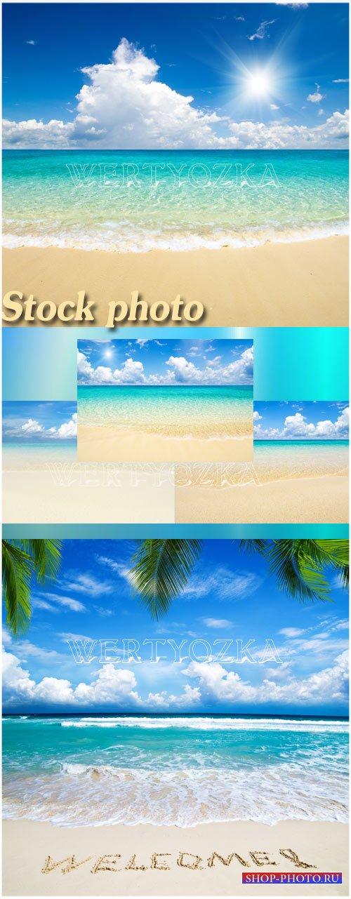 Чудесные морские пейзажи / Seascapes - Raster clipart