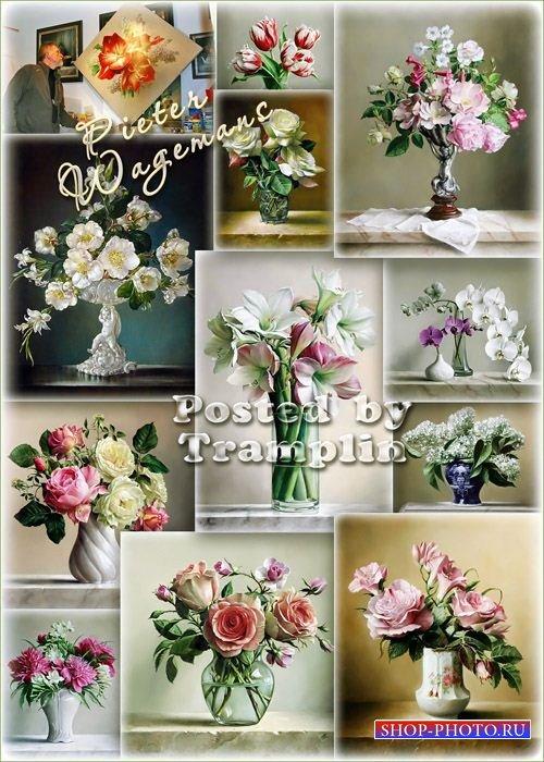 Красота цветов – Букеты - Художник Pieter Wagemans