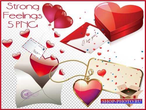 Романтический скрап-набор - Сильные чувства