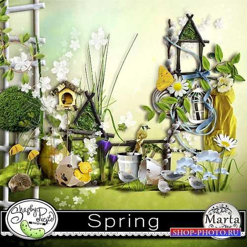 Весенний набор для скрапбукинга - Весна