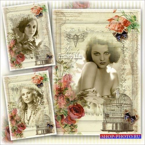 Винтажная рамка – Стильная женщина, стильно одета, смотрится супер в своем  ...