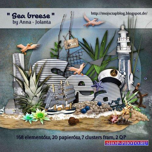 Морской набор для скрапбукинга - Морской бриз