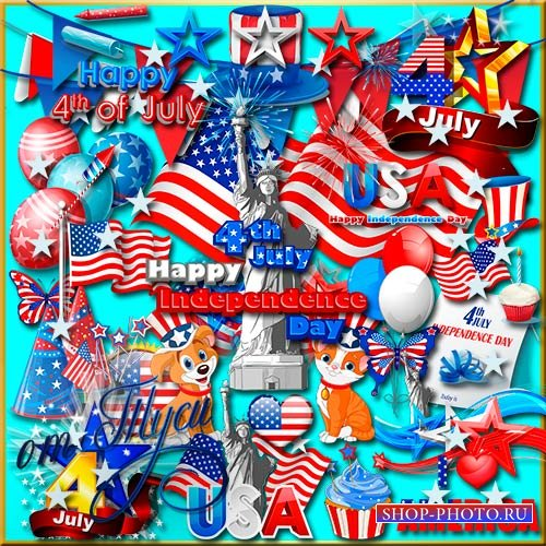 Клипарт - День Независимости США