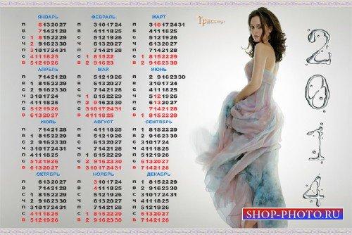 Стильный календарь на 2014 год - Gossip Girl (Сплетница)-Блэр Уолдорф (Лейт ...