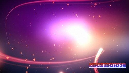 HD футаж Перемещение частиц