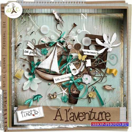 Морской скрап-комплект - Alaventure