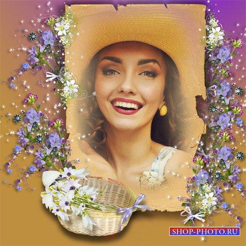 Рамка женская - Полевые цветы
