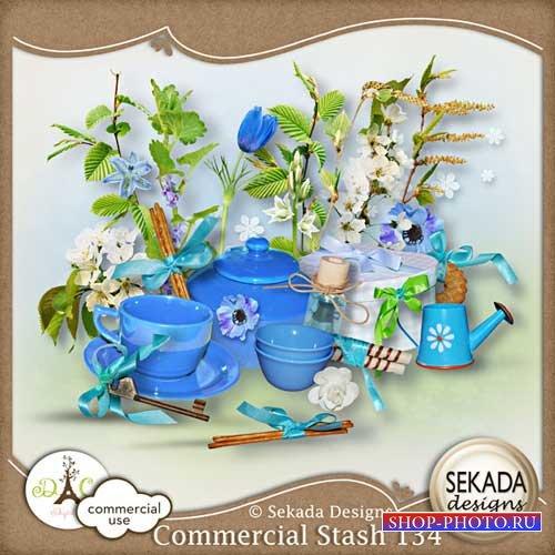 Коллекция  из 10 скрап-комплектов - Sekada Comercial Stash