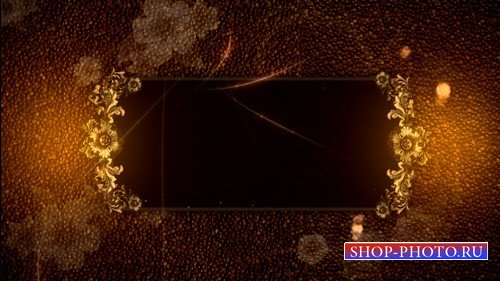 HD футаж Старинная рамка (MOV)