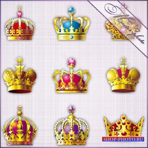 Многослойный PSD исходник - Короны