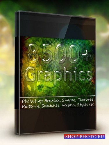 Photoshop Graphics Bundle (AI,EPS,PSD,ASL)
