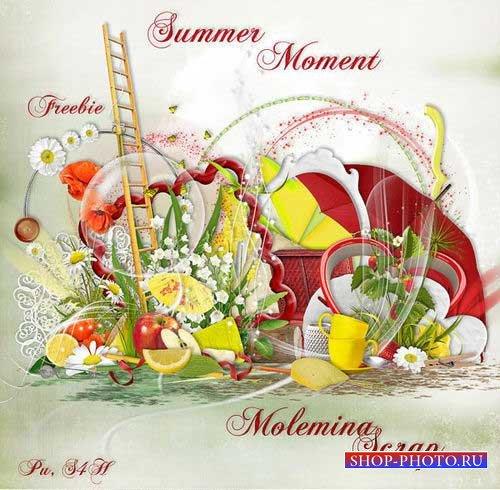 Яркий летний скрап-комплект - Летние моменты
