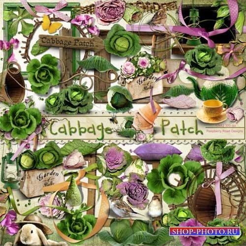 Овощной скрап-комплект - Капустник