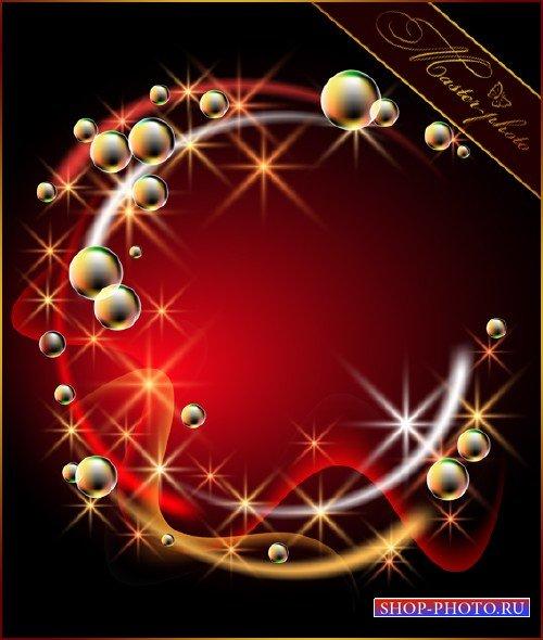 Многослойный исходник PSD - Мыльные пузыри