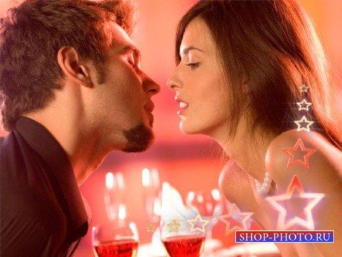 Прекрасный футаж романтический - Романтическая встреча
