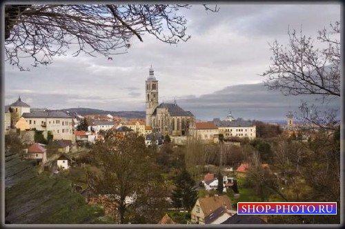 Photoshop видеоурок - Пейзаж города