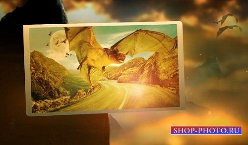 Проект для After Effects - Fantasy bats from Gala3D