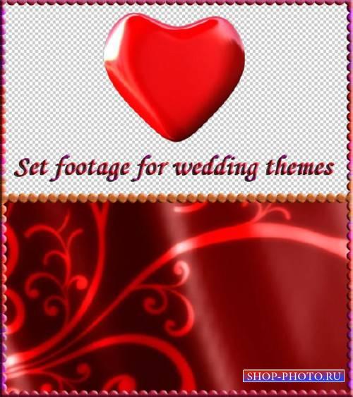 Набор свадебных футажей - Сильная любовь
