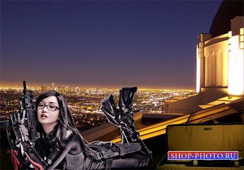Шаблон  женский - Снайпер