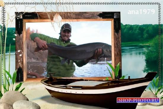 Рамка для фотошопа – На реке