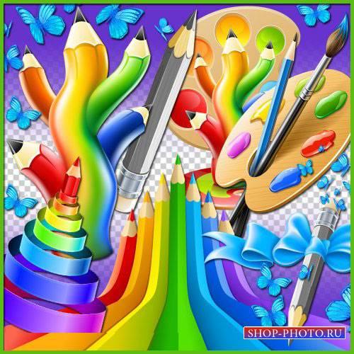 Яркий скрап-комплект - Палитра цветов