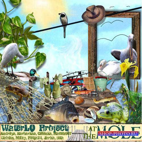 Рыболовный скрап-комплект - At The Mole
