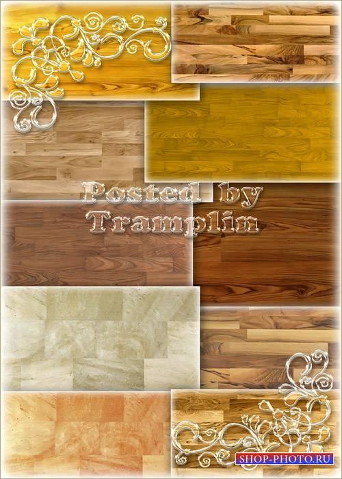 Деревянные фоны – Напольные покрытия