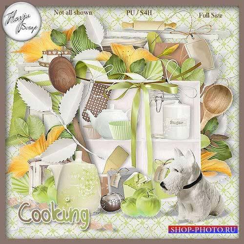 Оригинальный кулинарный скрап-комплект - Кулинария