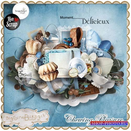 Винтажный кулинарный скрап-комплект - Вкушая с удовольствием