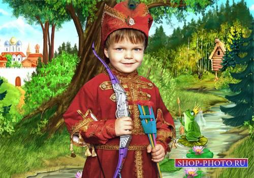 Шаблон  детский - Иван Царевич