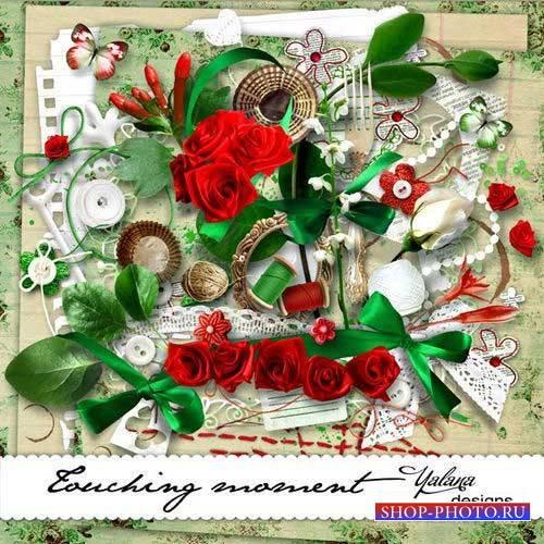 Романтический скрап-комплект - Трогательный момент