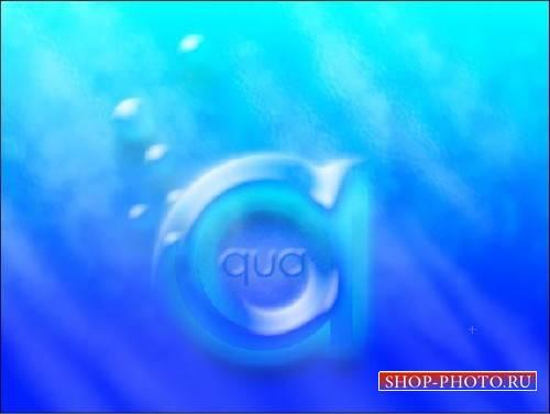 Photoshop видеоурок - Вода