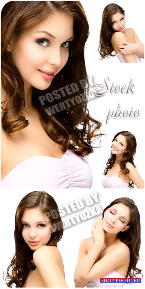 Милая и обаятельная девушка /  Nice and charming girl - stock photos
